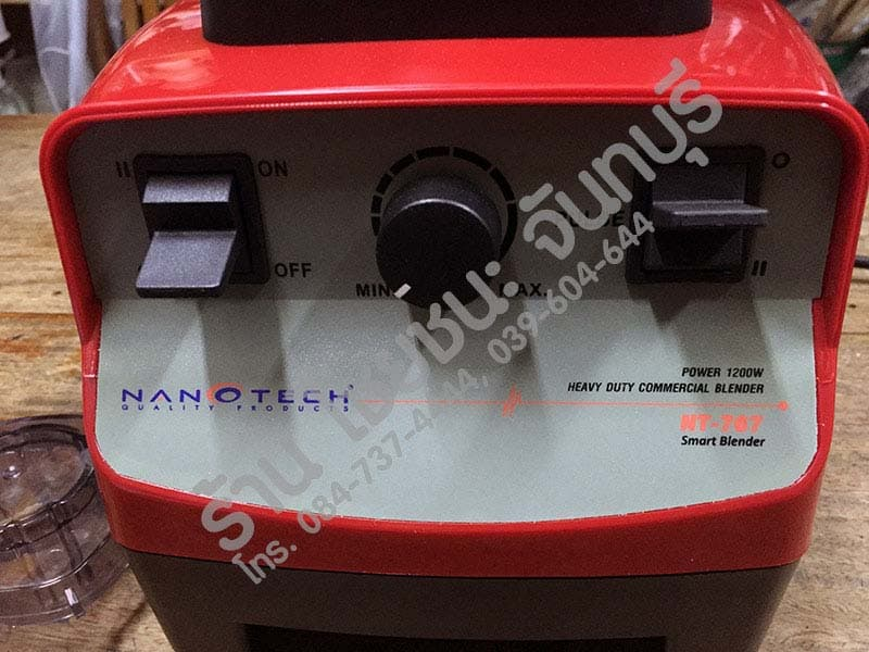 แผงควบคุม เครื่องปั่นน้ำผลไม้ รุ่น Nanotech-NT767